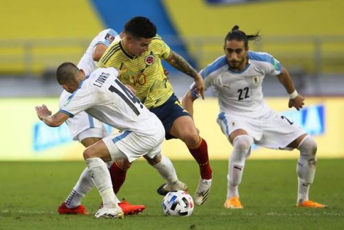 Kolombia vs Uruguay
