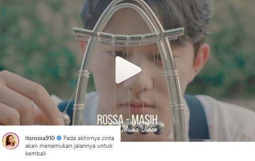Rossa rilis single baru. (Foto: Instagram/@itsrossa910)