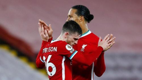 Andy Robertson dan Virgil van Dijk (Foto: Premier League)