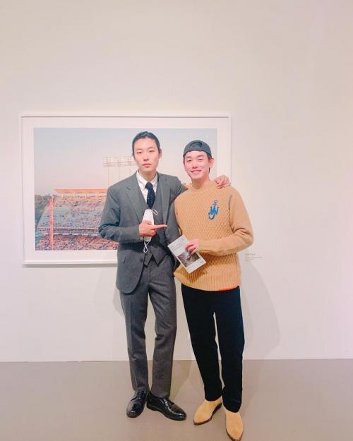 Ryu Jun Yeol dan Eric Nam