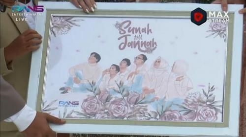 Hadiah pernikahan Sule