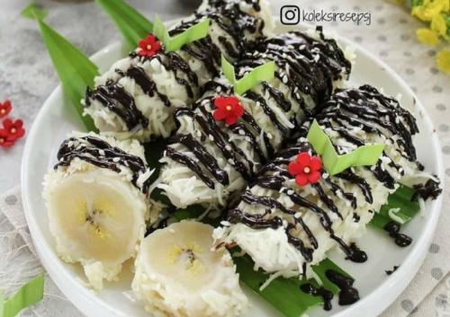 Pisang rai, makanan camilan khas Bali memiliki rasa yang enak dan manis bisa membuat ketagihan.