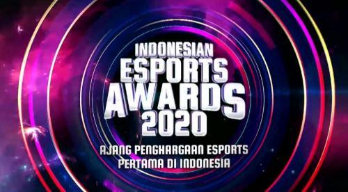 Indonesian Esports Awards GTV.