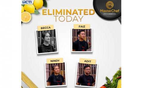 Pada babak Pressure Test, Becca, Adit, Nindy, dan Faiz harus berkompetisi dalam tantangan Aneka Rempah Challenge dari ketiga dewan juri.
