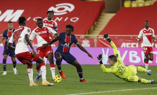 Monaco vs PSG (Foto: Reuters/Eric Gaillard)