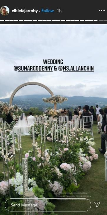 Denny Sumargo menikah.