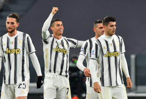 Suasana laga Juventus vs Cagliari