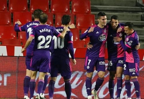 Real Valladolid menang atas Granada (Foto: Twitter/@realvalladolid)