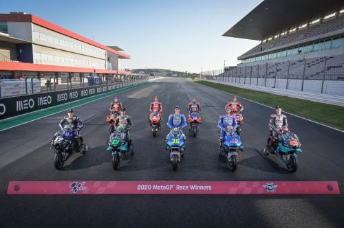 Sembilan pemenang MotoGP 2020