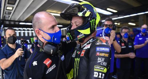 Perpisahan Valentino Rossi