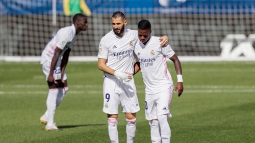 Vinicius Jr dan Karim Benzema