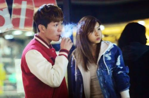 Onew SHINee dan Jung Ah After School