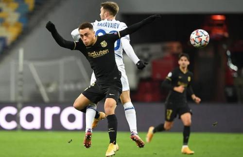 Dynamo Kiev vs Barcelona