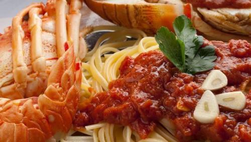 Lobster Linguine All'astice Italia. (Foto: Taste Atlas)