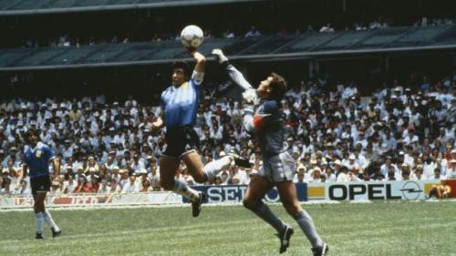 Gol Tangan Tuhan Maradona
