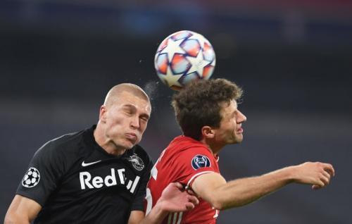 Bayern Munich vs Salburg