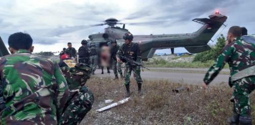 TNI diserang KKB