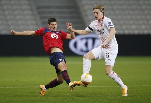 Lille vs Milan (Foto: Reuters)
