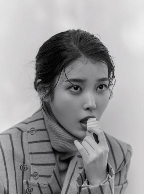 Lee Ji Eun/IU. (Foto: GQ Korea)
