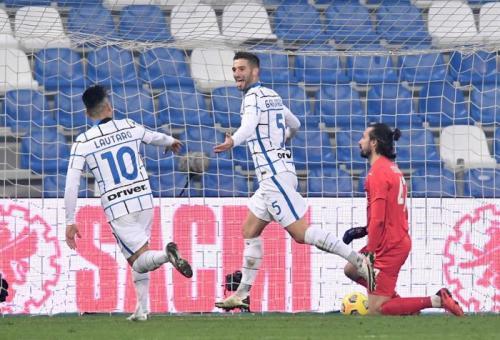 Sassuolo saat menjamu Inter Milan
