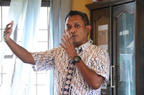 Kepala Sub Direktorat Mitigasi Struktural BNPB, Radito Pramono (BNPB)