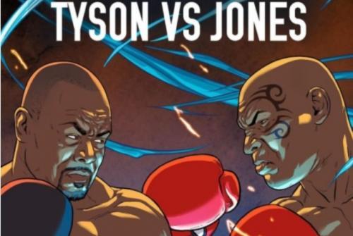 Mike Tyson dan Roy Jones Jr