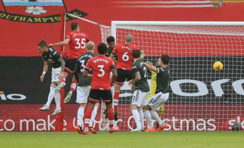 Pertahann Man United masih lemah di musim 2020-2021