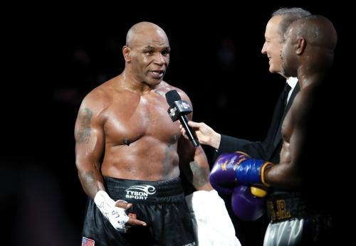 Mike Tyson (Foto: Reuters)