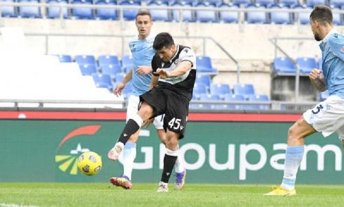 Udinese menang 3-1 atas Lazio (Foto: Twitter/@Udinese_1896)