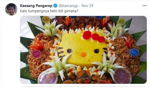 Cuitan Kaesang Pangarep tak pernah lepas dari sorotan publik.