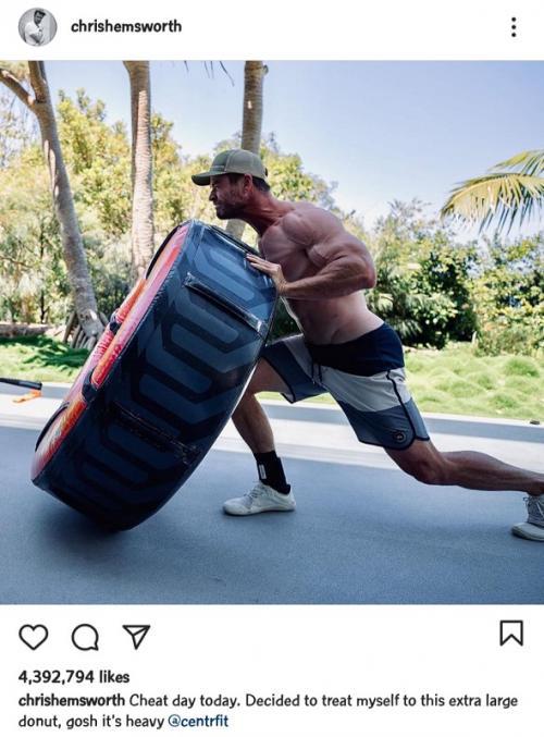 Chris Hemsworth. (Foto: Instagram/@chrishemsworth)