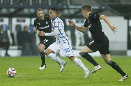 Monchengladbach vs Inter (Foto: Reuters)