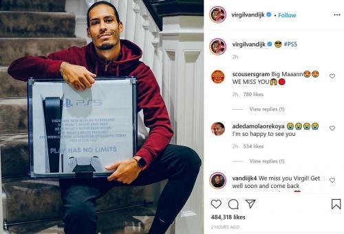 Virgil van Dijk (Foto: Instagram/@virgilvandijk)