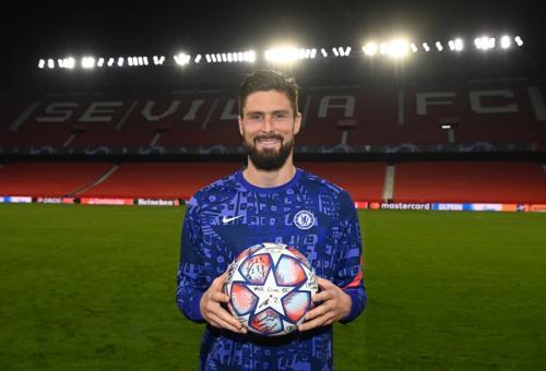 Olivier Giroud (Foto: Twitter/@ChelseaFC)