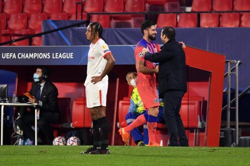 Laga Sevilla vs Chelsea