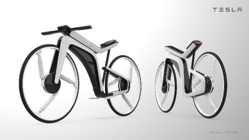 Sepeda listrik canggih Model B. (Foto: Kendall Toerner)