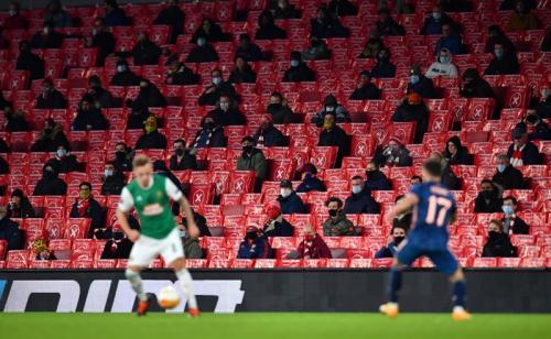 Arsenal menang telak 4-1 atas Rapid Wina (Foto: Reuters/Dylan Martinez)