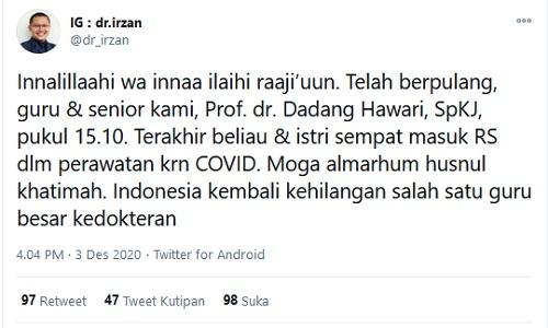 Dr Irzan