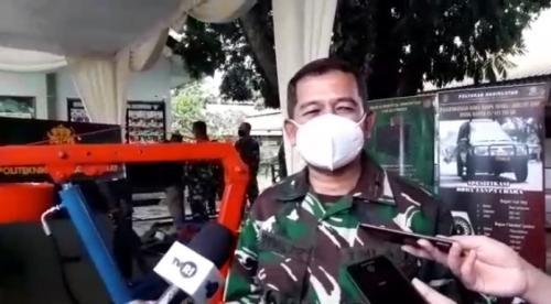 Komandan Poltekad Brigjen TNI Nugraha Gumilar. (Foto : Sindonews/Komarudin Bagja)