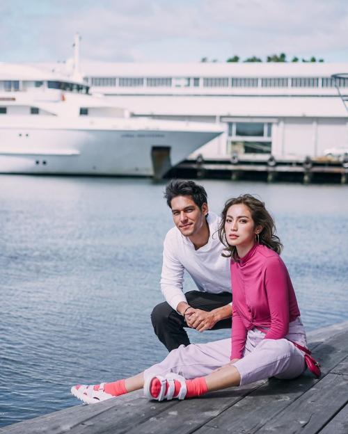 Jessica Iskandar dan Richard Kyle. (Foto: Instagram/@inijedar)