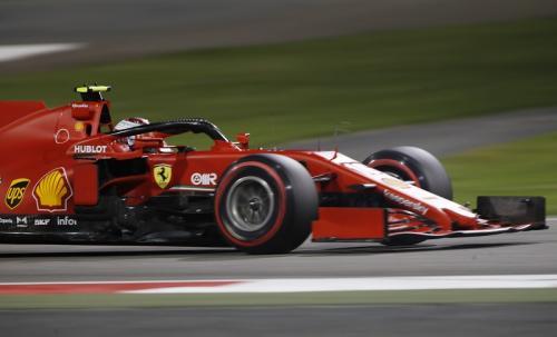 Charles Leclerc tempati posisi empat (Foto: Reuters/Hamad I Mohammed)
