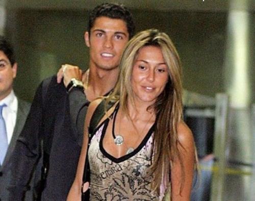 Cristiano Ronaldo dan Merche Romero