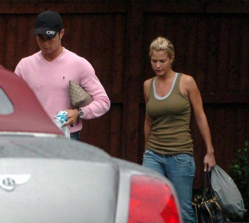 Gemma Atkinson dan Cristiano Ronaldo
