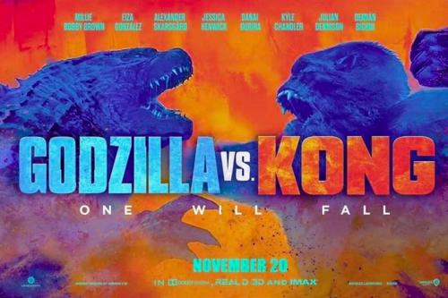 Godzilla vs Kong. (Foto: Legendary Entertainment)
