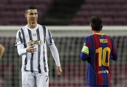 Ronaldo vs Messi di laga Barcelona kontra Juventus