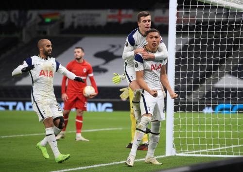 Tottenham Hotspur vs Antwerp