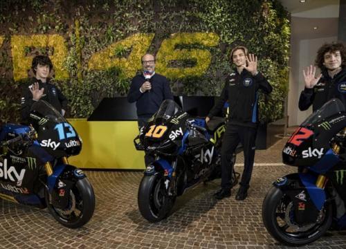 Usung Nama Tim Valentino Rossi Luca Marini Pamer Livery Motor Untuk Motogp 2021 Okezone Sports