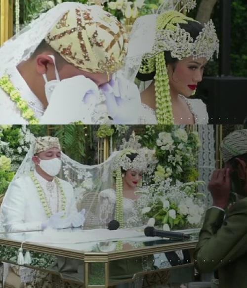 Yura Yunita dan Donne Maula resmi menikah.