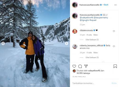 Valentino Rossi dan Francesca