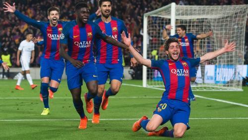 Gol Sergi Roberto pastikan kemenangan Barcelona (Foto: FC Barcelona)